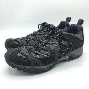 Merrell Siren Sport Black/Plum Hiking Shoes Sz 10